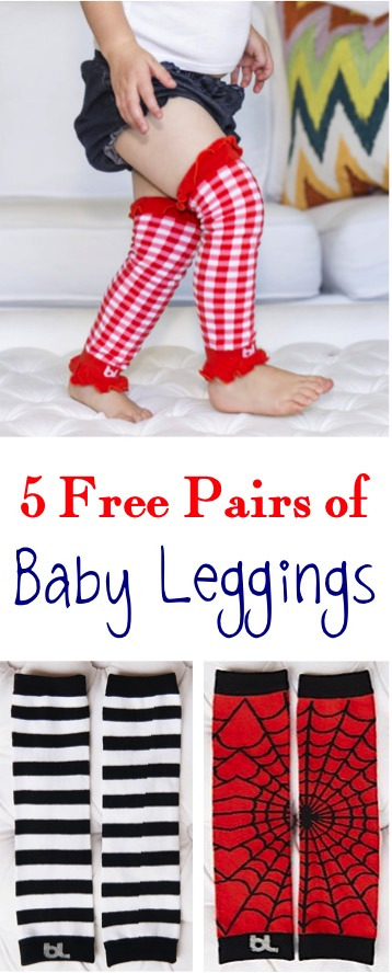 Free Pairs of Darling Baby Leggings at TheFrugalGirls.com