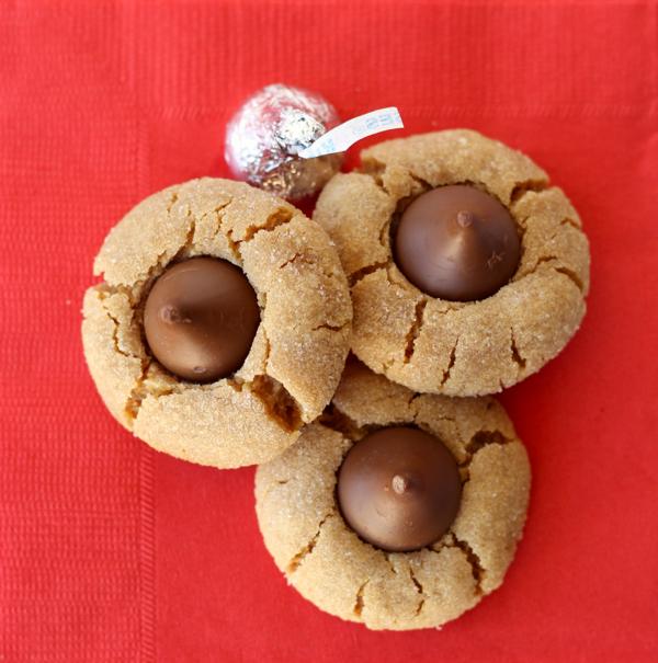 Peanut Butter Kiss Cookies No Flour Recipe