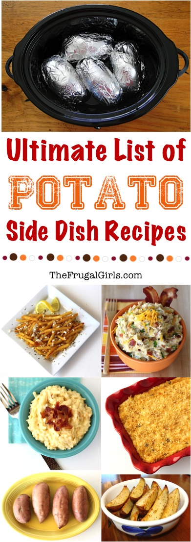 Potato Side Dish Recipes from TheFrugalGirls.com