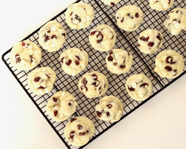Cranberry White Chocolate Cake Mix Cookie Recipe
