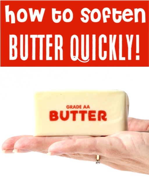 How to Soften Butter Quickly Fast Hack
