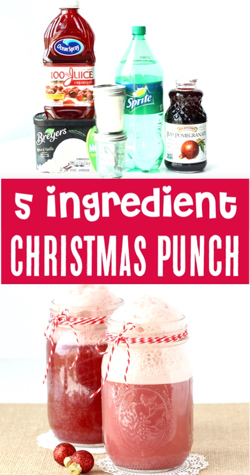 Punch Recipes Easy Cranberry Pomegranate Christmas Drink Recipe