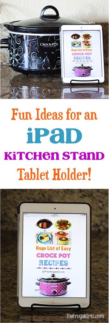 iPad Kitchen Stand Tablet Holder
