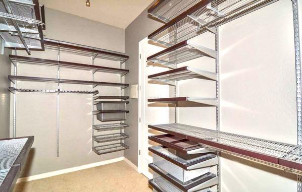 Master Bedroom Closet Organizer