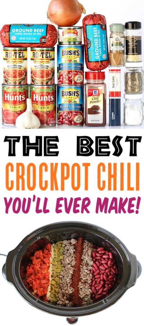 Crockpot Recipes Chili Beef Recipe