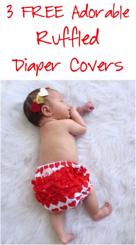 3 FREE Adorable Ruffled Diaper Covers at TheFrugalGirls.com