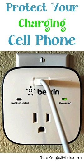 Protect Your Charging Cell Phone