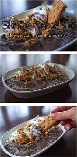 Skinny Oreo Dip Recipe