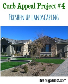 Clean up Landscaping for Curb Appeal