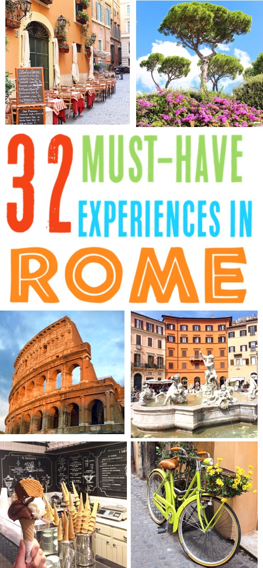 Rome Italy Things to Do - Top Travel Tips for What Outfits to Wear, Best Food, Top Photography Spots