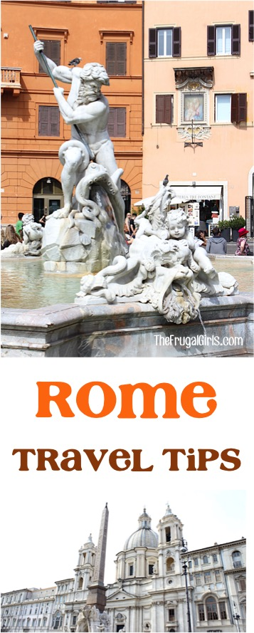 Top Rome Italy Travel Tips at TheFrugalGirls.com
