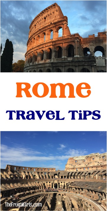 Top Rome Italy Travel Tips from TheFrugalGirls.com