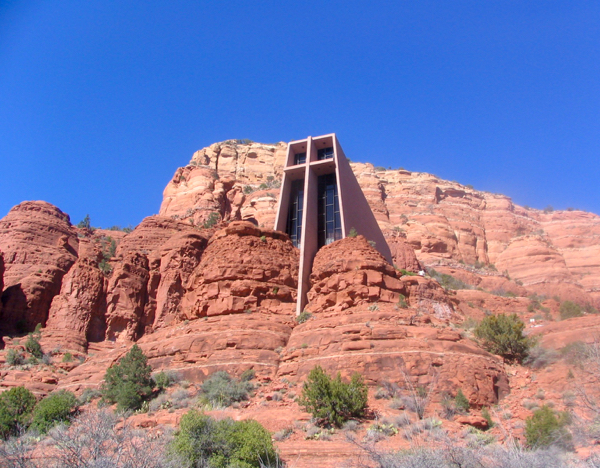 Chapel of the Holy Cross Sedona AZ