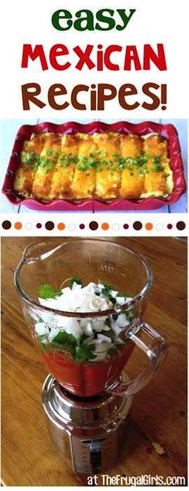 41 Easy Mexican Dinner Recipes at TheFrugalGirls.com