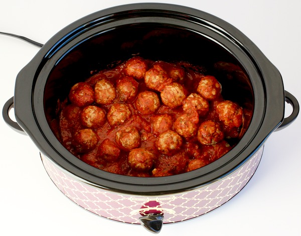 Crock Pot Italian Meatballs Recipe from TheFrugalGirls.com