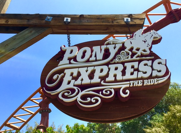Knotts Berry Farm Rides - Pony Express - Plus more Fun Knotts Tips from TheFrugalGirls.com