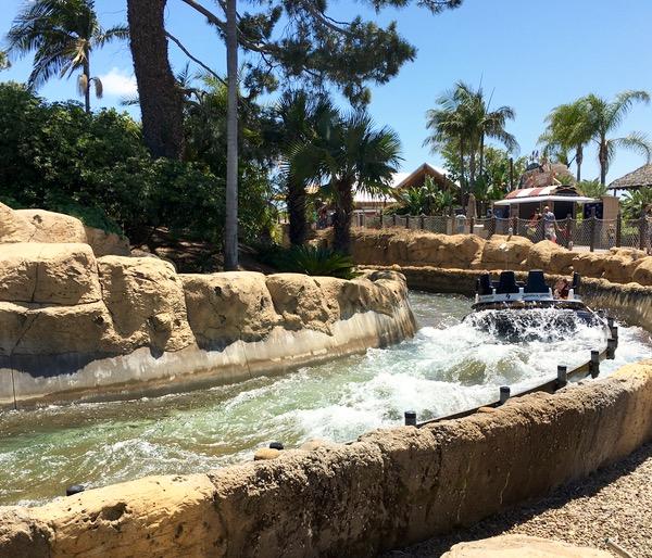 SeaWorld San Diego Rides Shipwreck Rapids