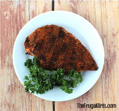 Blackened Chicken Rub Recipe from TheFrugalGirls.com