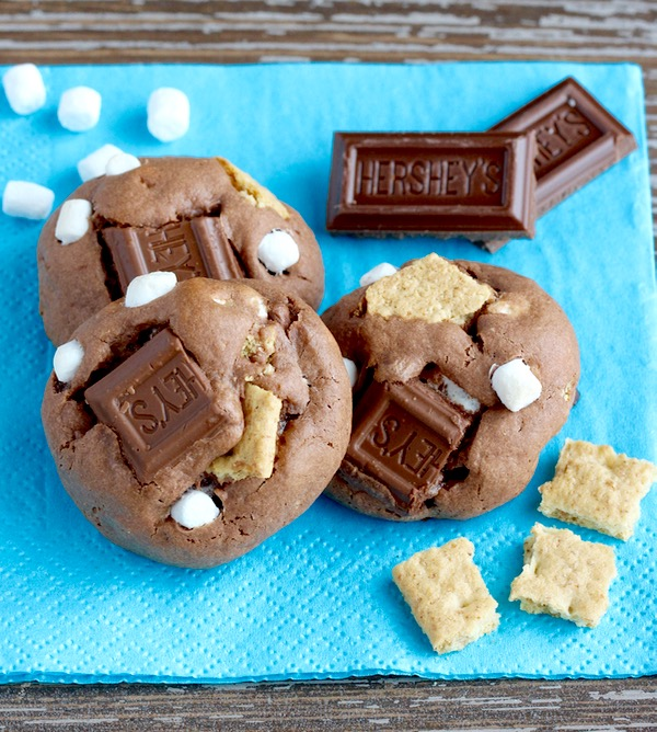 Smores Cookies Recipe from TheFrugalGirls.com