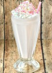 Strawberry Milkshake Recipe with Strawberry Ice Cream