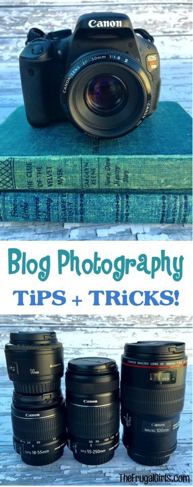 Blog Photography Tips and Tricks - TheFrugalGirls.com