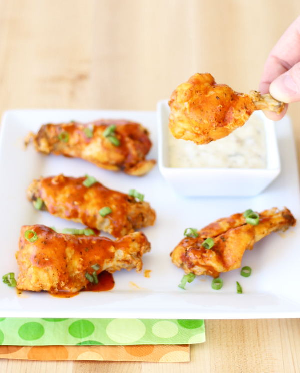 Crock Pot Chicken Wing Recipes from TheFrugalGirls.com