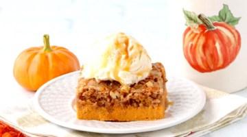 Easy Pumpkin Spice Dump Cake Recipe