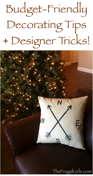 Thrifty Decorating Tips and Designer Tricks from TheFrugalGirls.com