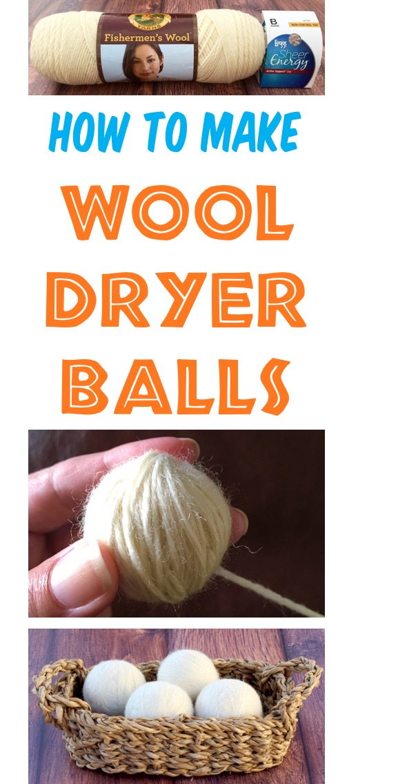Wool Dryer Balls How to Make