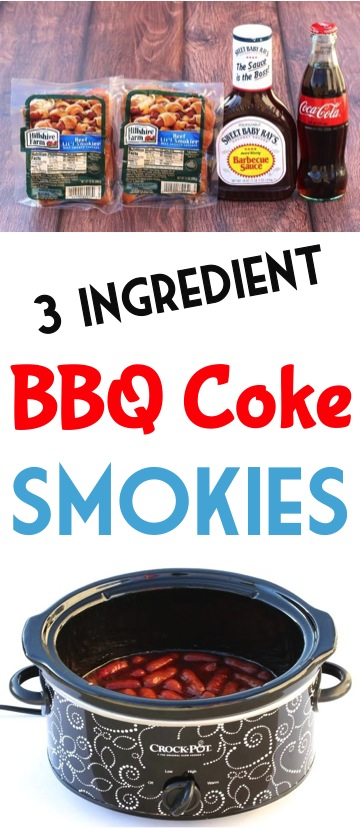 Easy BBQ Coca Cola Little Smokies Recipe! - The Frugal Girls