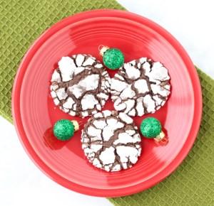Peppermint-Crinkle-Cookies