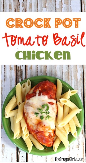 Crock Pot Tomato Basil Chicken Recipe