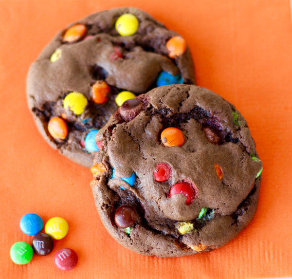 Chocolate M and M Cookies Recipe