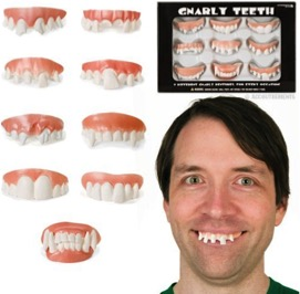 Gnarly Teeth Set