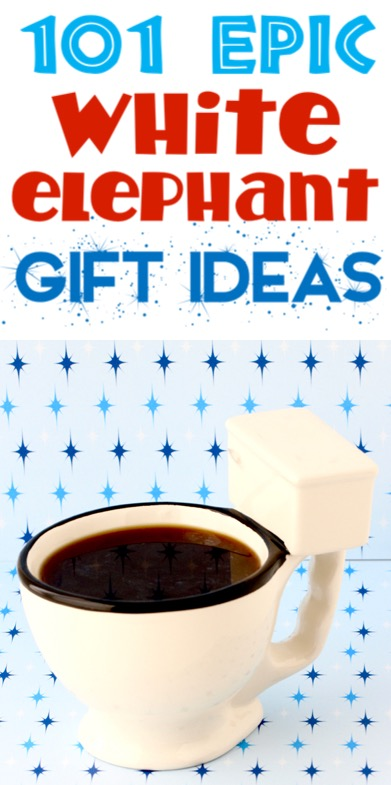 White Elephant Gift Ideas for your Funny Gift Exchange Game