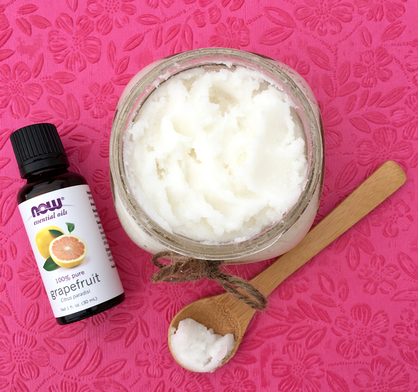 Grapefruit Sugar Scrub Recipe from TheFrugalGirls.com