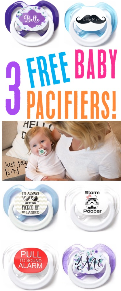 Best Baby Pacifier for Boy or Girl Free Baby Stuff