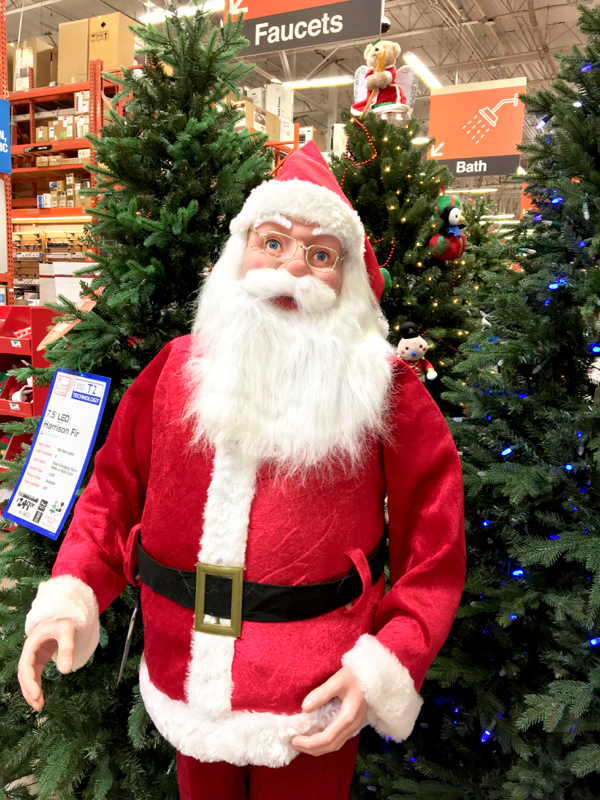 Home Depot Holiday Sales