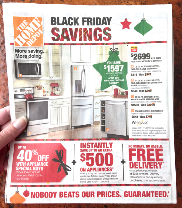 Home Depot Sales Ad Flyer