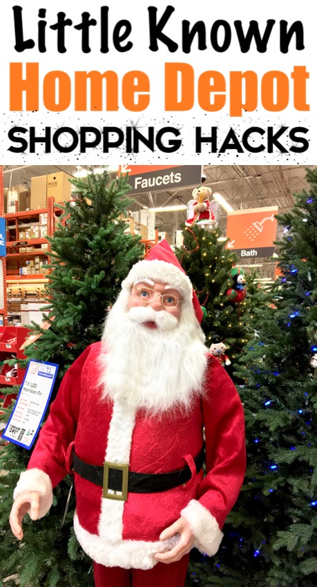 Home Depot Shopping Hacks and Tips