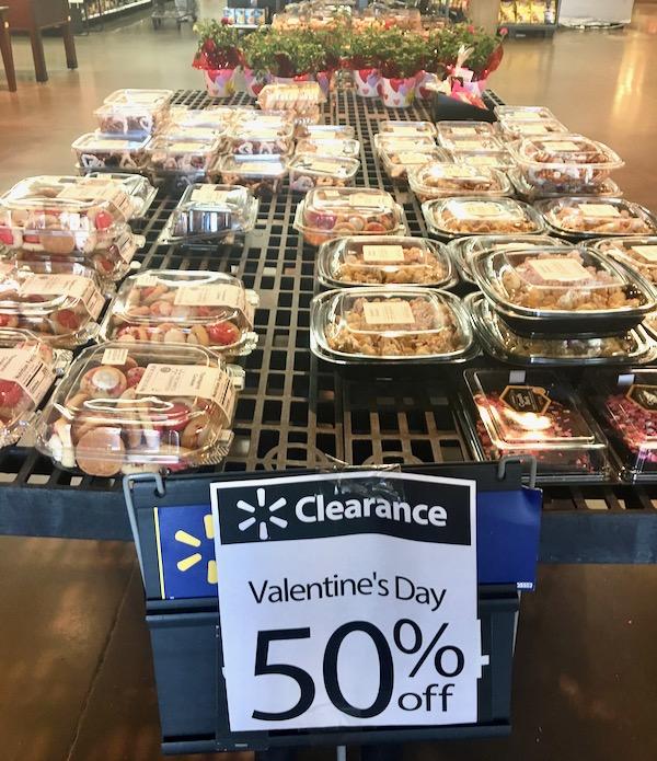 Walmart Baked Goods Clearance
