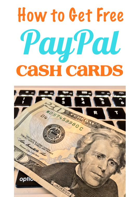 How to Get Free PayPal Cash Cards