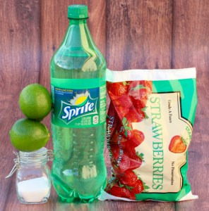 Easy Strawberry Lime Slush Recipe from TheFrugalGirls.com