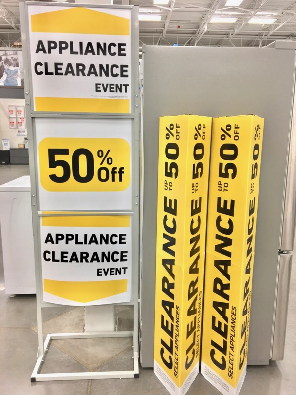 Lowes Appliance Clearance
