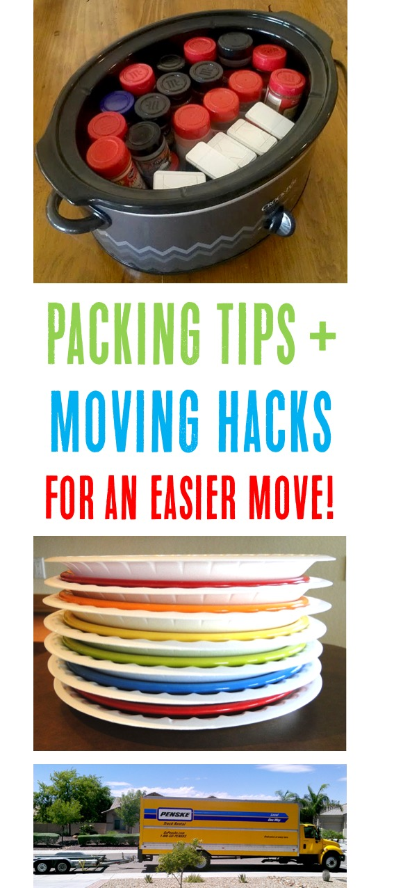 Moving Packing Tips and Hacks