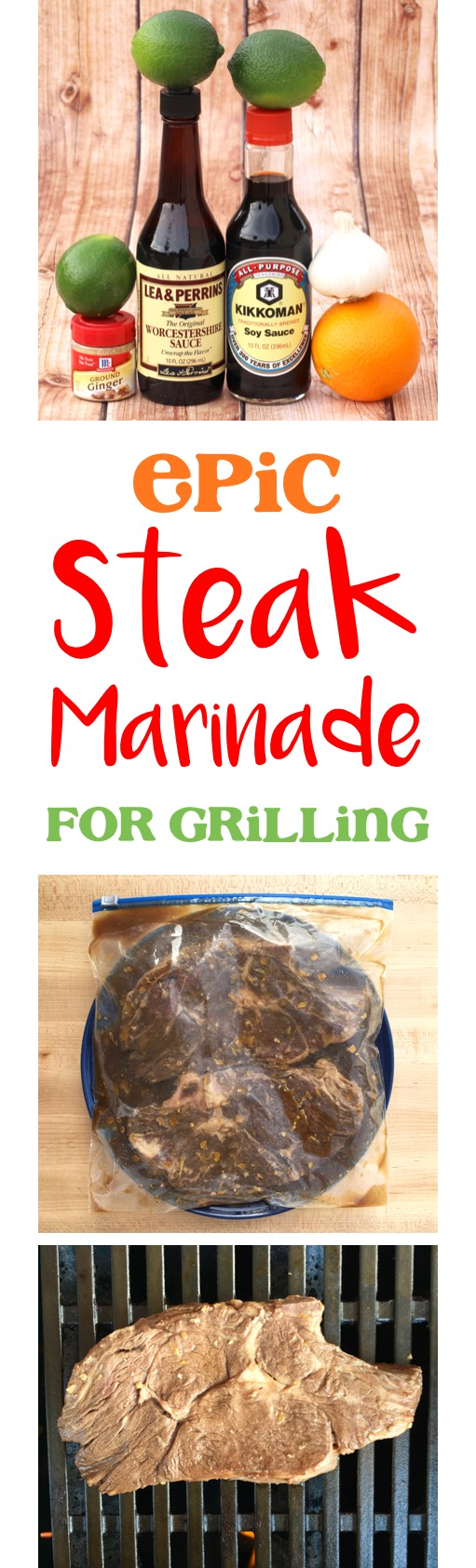 Steak Marinade for Grilling Recipe from TheFrugalGirls.com