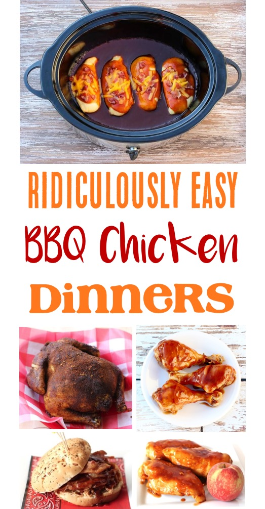 Easy BBQ Chicken Recipes from TheFrugalGirls.com