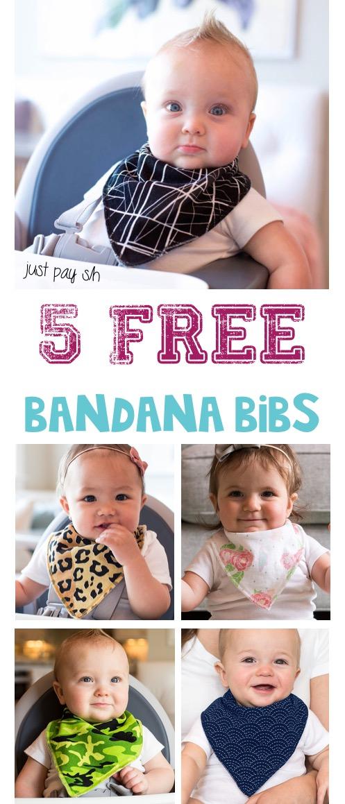 Free Bandana Bibs