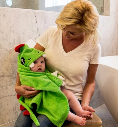 Free After Bath Hooded Towel