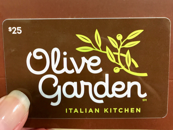 How to Get a Free Olive Garden Gift Card